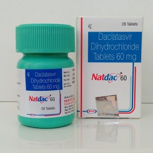 Natdac (Натдак) - daclatasvir, 3 шт. на курс терапии