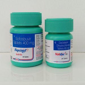 Комплект Hepcinat + Natdac от компании Natco