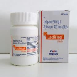 Ledihep - софосбувир + ледипасвир