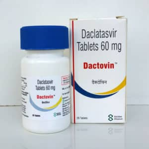 Dactovin (Дактовин) - даклатасвир, 3 шт. на курс терапии