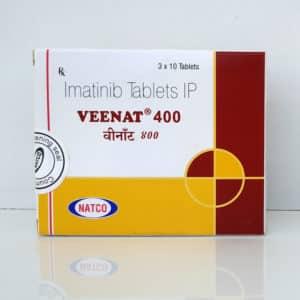 Veenat (Винат) - Imatinib 400 mg, дженерик препарата Glivec
